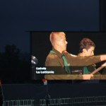 Latvijas skauti džamborejas atklāšanas ceremonijā