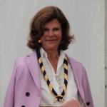 Zviedrijas karaliene Silvija viesojas džamborejā