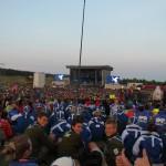 Latvijas skauti džamborejas noslēguma ceremonijā